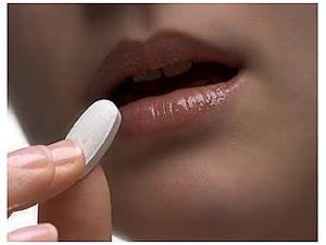 femeie care ia stimulente pilula