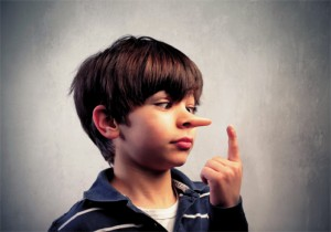 copil care nu spune adevarul